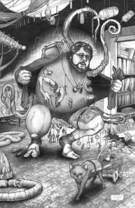 Guillermo del Toro, by Carlos Chavira