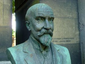 The grave of Georges Méliès...