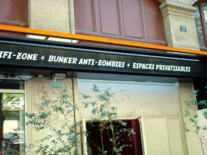 ...a bunker anti-zombies.