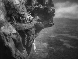 Andrea's escarpment midadventure.